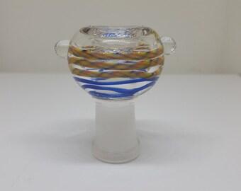 14.5mm female glass on glass bowl