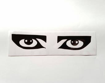 Siouxsie Sioux eyes vinyl sticker