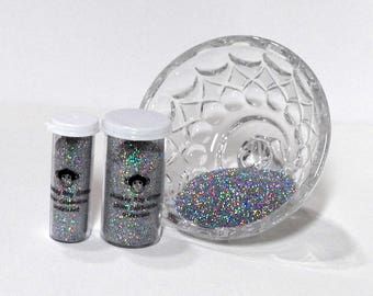 Silver Celebration Holo/Irid Glitter-Extra Fine 0.008-Many Other Color Options-2 Sizes-Visit My Store!