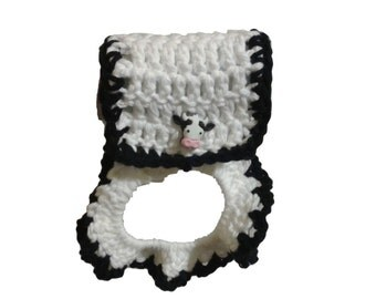 Cow Towel Holder Etsy