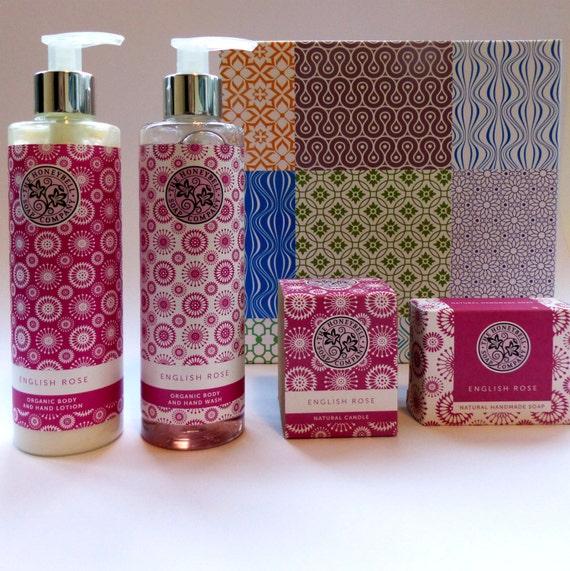 The English Rose Luxury Organic Gift Box