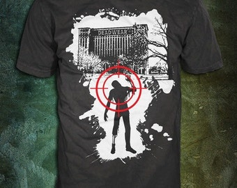 DeadWear Detroit Train Station Zombie T-Shirt