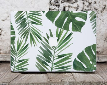 Tropical Leaves Macbook Skin Laptop Decal Macbook Air Skin Macbook Decal Laptop Cover Macbook Pro 13 Case Decal Cover Macbook Air 13 104