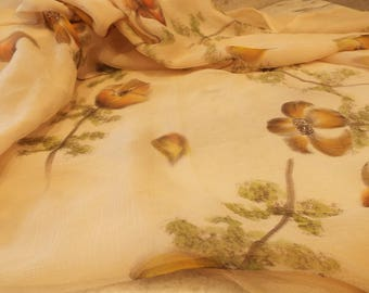Handpainted Silk Scarf from the Caprice Opera