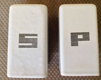 Art Deco Stove Salt and Pepper Shakers