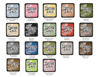 Tim Holtz Mini Distress Ink Pads (Choose your desired colour)