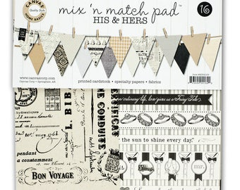 CanvasCorp Mix & Match Pad His and Hers