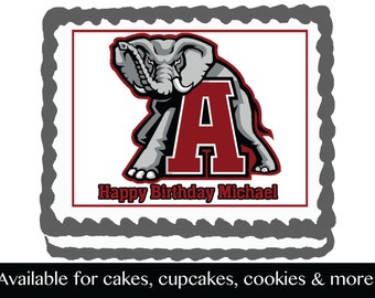 Alabama Cake Topper Etsy