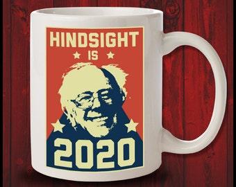 Hindsight Is 2020 Bernie Sanders Shirt Liberal Anti Trump Gift