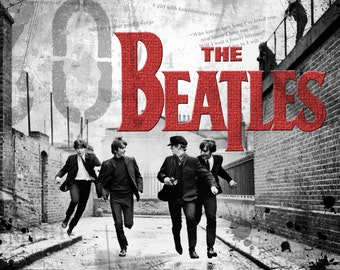 Beatles – The Beatles – Beatles Art – Beatles Gifts – Beatles Poster – Beatles Print - 8x10 - 11x14 - 16x20 (JS00333)
