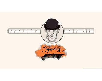 Clockwork Orange - Clockwork Orange Print - Clockwork Orange Movie - Art - Wall Art - Decor - 8x10 - 11x14 - 16x20 (JS000608)
