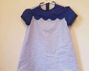 Children's 4T dress - blue