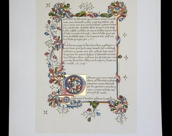 Antique Chromolithograph