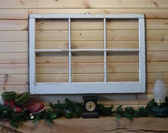 Vintage window Sash 1950's 36x24