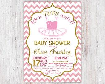 Nice Ballerina Baby Shower, Tutu Invite, Girls Baby Shower Invitations, Tutu  Baby Shower
