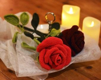 Rose, Rose (crochet, crocheted)