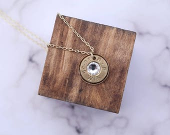 Dainty Bullet Necklace