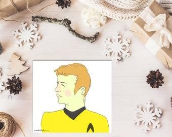 Captain Kirk of Star Trek