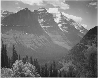 Ansel Adams Fine Art Photography, From the series Ansel Adams Photographs of National Parks and Monuments Glacier National Park, Montana