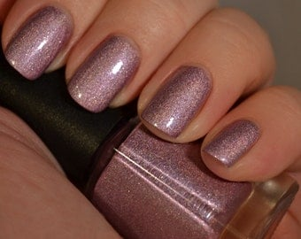 Felicity's Flame - Pink Purple Holographic Nail Polish