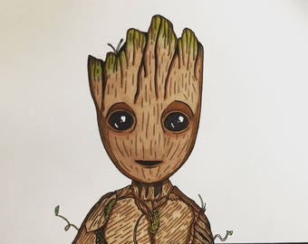 Baby Groot.