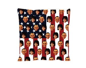 iTrendy Barack and Michelle Obama Pillow