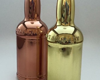 Bottles with a mirror finish