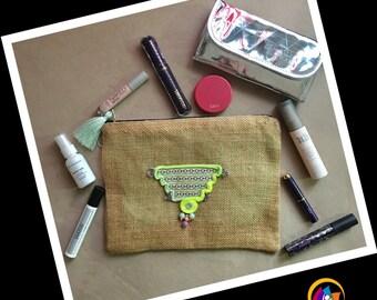 Handmade Envelope Makeup Bag