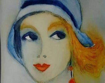 Portrait of a woman: Anaïs