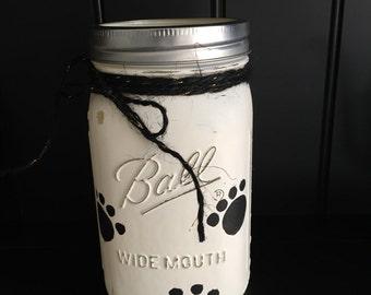 Mason Jar Doggie Treat Jar