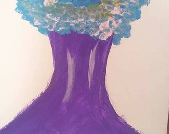 Technicolorful - Acrylic on Canvas Painting
