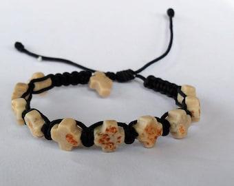 Blessing bracelet with Stone Crosses from Medjugorje
