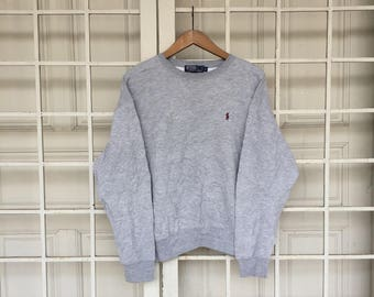 Polo by Ralph Lauren Sweatshirt Small Logo Made In Northern Mariana Island Small Size