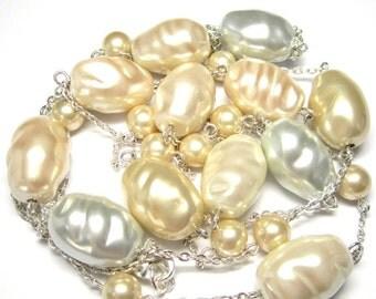 Baroque South Sea Pearl Necklace