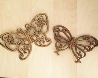 Pair of Bohemian Butterflies
