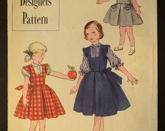 Vintage Simplicity Printed Pattern
