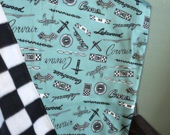Corvair Fleece Blankets