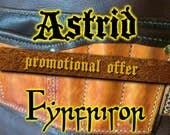 PROMOTION  Leather Smiths  Barbers Apron  The Artisan  Fyrfrisor  Astrid