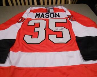 Steve Mason signed philadelphia flyers jersey/jsa