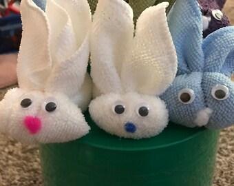 Boo boo bunnies, washcloth bunnies