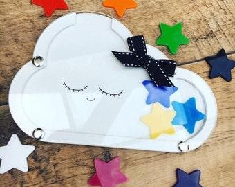 Cloud Reward system, for children to celebrate good behaviour, chores or potty training