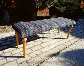 Decorative Bench, Upholstered bench, Entryway bench, Bedroom bench,