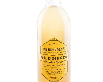 BG Reynolds Wild Ginger syrup 375ml