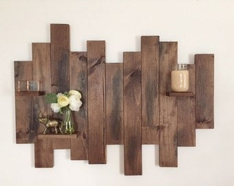 Pallet Wood Wall Art reclaimed wood wall art | etsy