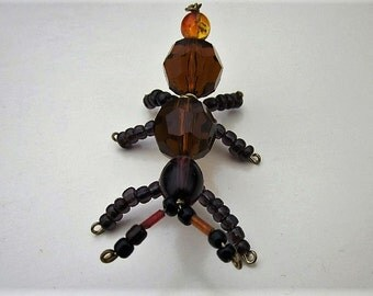 Beaded Ant ,Brown,Black.