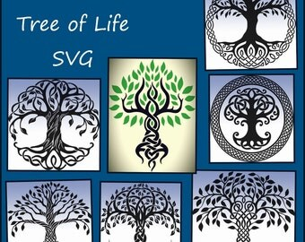 Celtic Tree of Life SVG - Tree of Life SVG Png Jpeg - Tree of life designs for Cricut and Silhouette