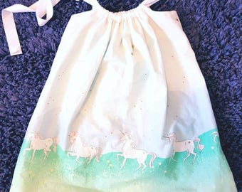 Unicorn Dress - Sundress - Unicorn Sundress - Birthday Dress - Girl Dress - Toddler Dress