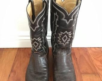 Vintage 70s Cowboy Boots