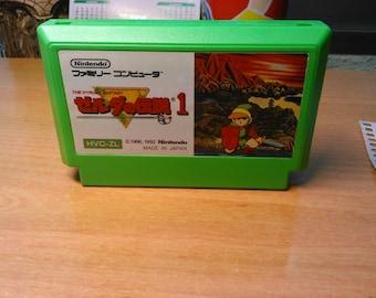 ZELDA FAMICOM Original JAP                      Nintendo