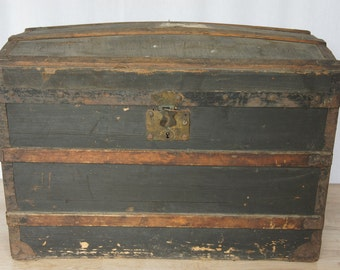 Domed French Travel Trunk